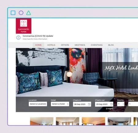 leonardo hotels website