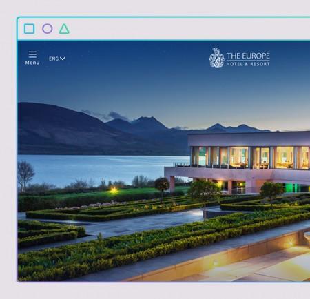 the europe website design