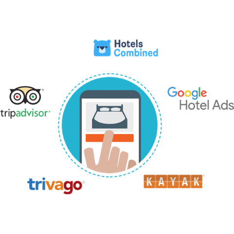 metasearch, hotels