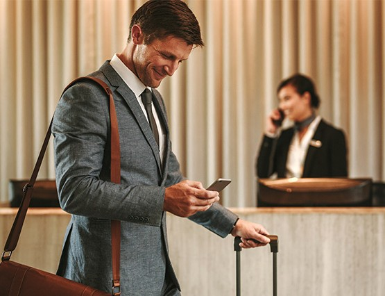 contactless hotel check-in
