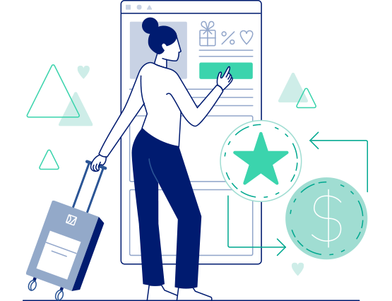 integrated loyalty booking engine